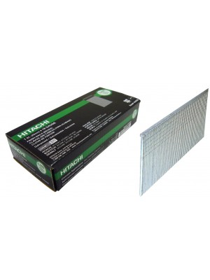 "HITACHI 14102S, 1"" x 18 GAUGE ELECTRO GALVANIZED FINISH NAILS"