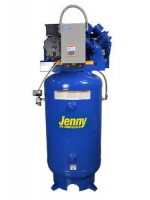 Jenny GT5B-80V Two Stage Vertical Electric Stationary Compressor with GT Pump, 80 Gallon Tank, Single Phase, 5 HP, 230V