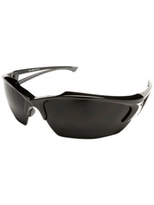 Edge Eyewear SDK116 Khor Black with Smoke Lens