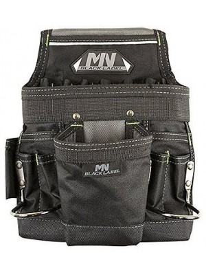 McGuire Nail & Tool Pouch, Ballistic, Black Label BL-670 DISCONTINUED BY THE MANUFACTURER