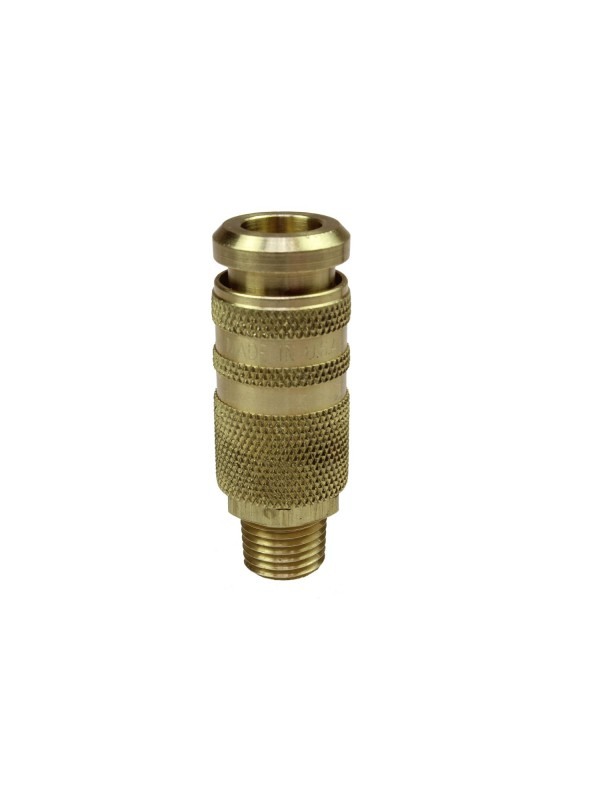 1/4' BODY SIZE COILFLOW COMBO COUPLERS INDUSTRIAL AND ACME INTERCHANGE 1/4' NPT MALE