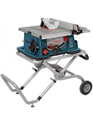 WORKSITE TABLE SAW WITH GRAVITY-RISE STAND 10""
