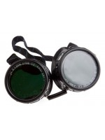 GOGGLES, OXYGEN ACETYLENE, ECONOMY EYE-CUP 50MM ROUND LENS, SHADE-5