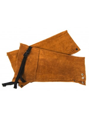 "SLEEVES FLAME RETARDANT, 18"", BROWN"