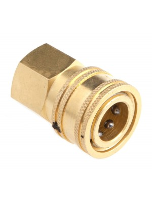 PRESSURE WASHER ACCESSORIES, QUICK COUPLER FEMALE SOCKET, 3/8-INCH FEMALE NPT, 4,200 PSI