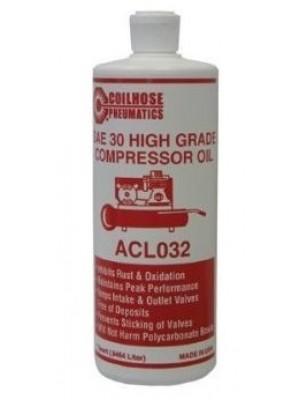 AIR COMPRESSOR OIL (1 QUART BOTTLE)