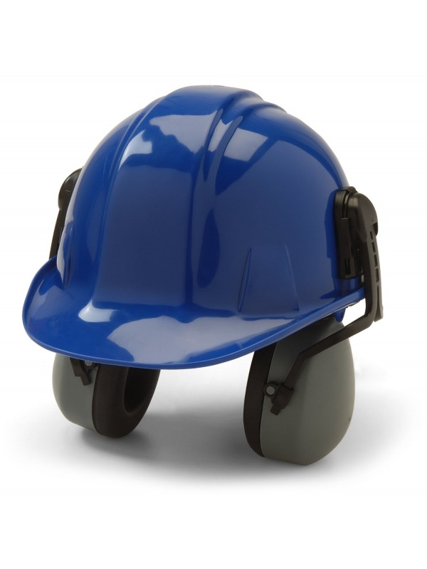 CAP-MOUNTED EARMUFF (helmet not included)