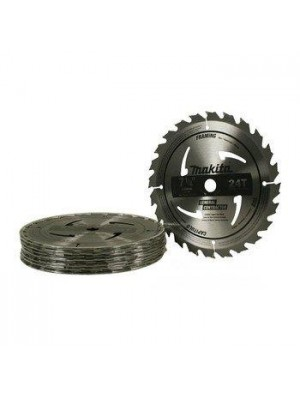 """7-1/4"""" .24 TOOTH CARBIDE-TIPPED CIRCULAR SAW BLADE QTY 10 PACK"""