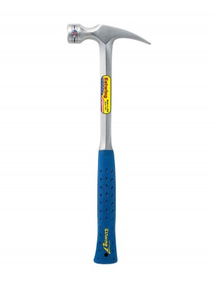 28 OZ FRAMING HAMMER WITH MILLED FACE & SHOCK REDUCTION GRIP