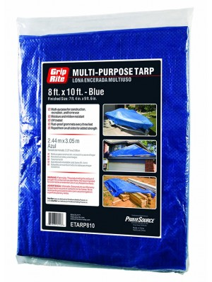 MULTI-PURPOSE BLUE TARP 8FT x 10FT