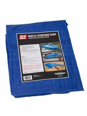 MULTI-PURPOSE BLUE TARP 10FT X 12FT
