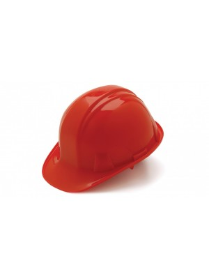 Pyramex SL Series Cap Style Hard Hat Red