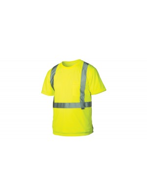 Pyramex – Hi-Vis Lime Wicking Shirt RTS2110M