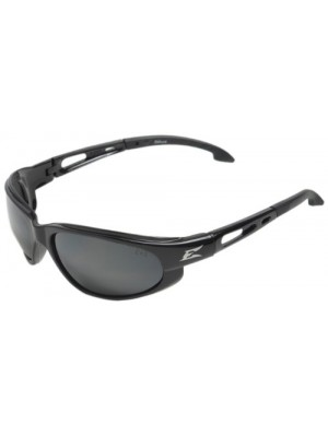 DAKURA SAFETY GLASSES (BLACK WITH SILVER MIRROR LENS)