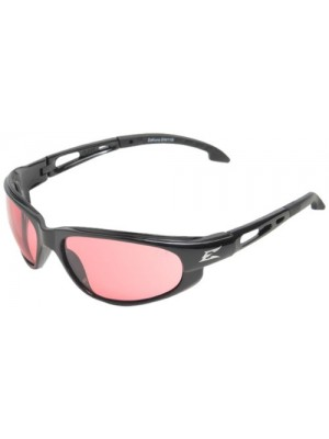 DAKURA SAFETY GLASSES (BLACK WITH ROSE MIRROR LENS)
