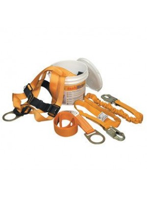Miller Titan by Honeywell TFPK-2/U/6FTAK Ready Worker Fall Protection Kit, Universal