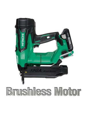 "NT1850DE 2"" 18V HITACHI CORDLESS BRUSHLESS LITHIUM ION 18GA BRAD NAILER"