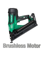 "NT1865DMA 2-1/2"" 18V HITACHI CORDLESS BRUSHLESS LITHIUM ION 15GA ANGLED FINISH NAILER"